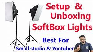 Softbox Light Setup Instructions