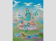 Green Tara I Original Thangka Images Of Enlightenment