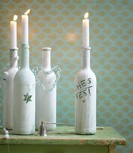 Ideen Für Kerzenständer : die besten 25 dekorierte flaschen ideen auf pinterest dekorative flaschen ver nderte ~ Orissabook.com Haus und Dekorationen