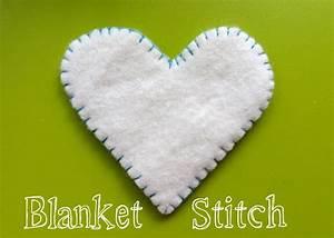 Sewing Basics – Blanket Stitch Imagine Our Life