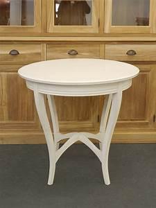 Runder Tisch 80 Cm Durchmesser : tisch bistrotisch salontisch antik um 1930 wei lackiert d 80 cm 5560 ebay ~ Bigdaddyawards.com Haus und Dekorationen