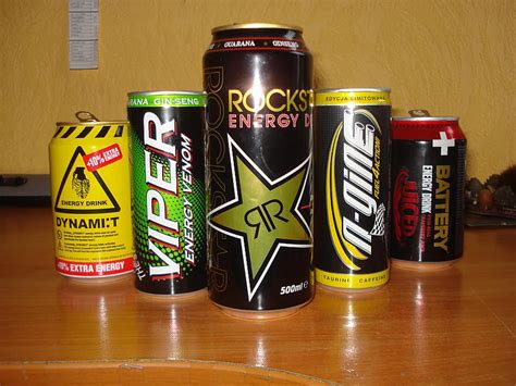 Enerģijas dzērienu mazā kolekcija. - Spoki
