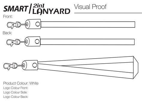 lanyard template smart 2 in 1 lanyard will international