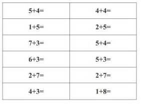 printable worksheet for grade 1 grade one addition worksheets laptuoso