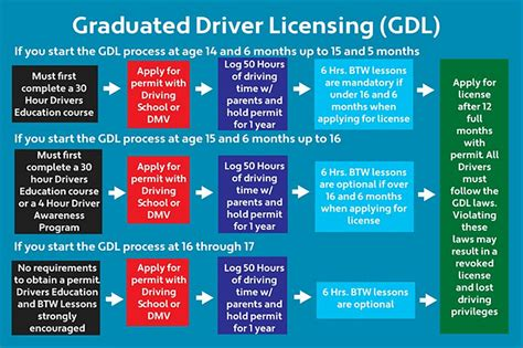 Gdl Drivers License Rules