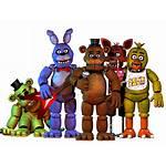 Fnaf Freddy Nights Five Transparent Pack Clipart