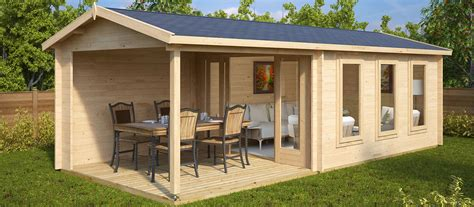 Die 7 Besten Holzhäuser Mit Terrasse Hansagarten24