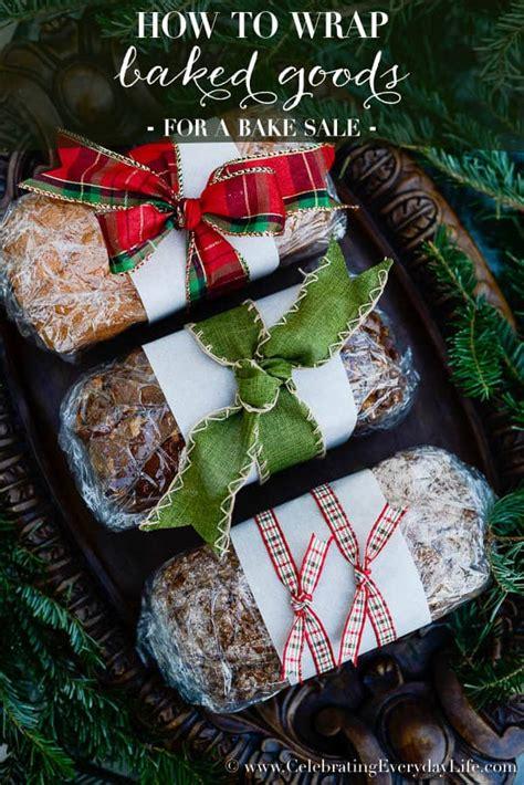wrap baked goods celebrating everyday life