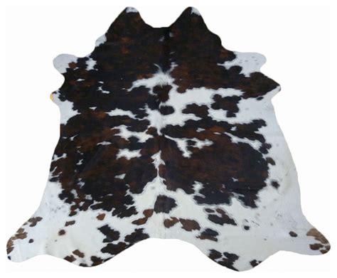 Cowhide Rugs Nyc by New York Tricolor Cowhide Rug Rustic Rugs By