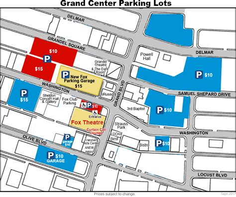 fox theater parking garage directions and parking the fabulous fox theatre
