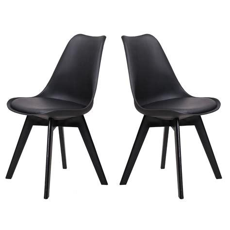 chaise salle a manger noir lot de chaise salle a manger valdiz