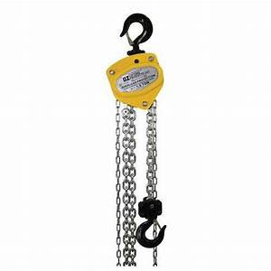 Oz Premium 1 5 T Chain Hoist  Overload Protection  W   20