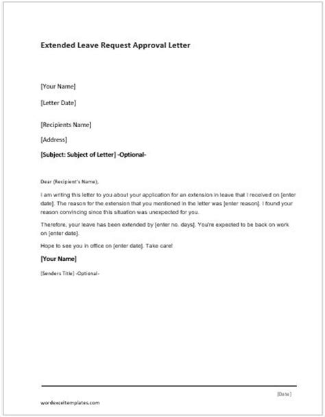 credit approval letter template  word word excel
