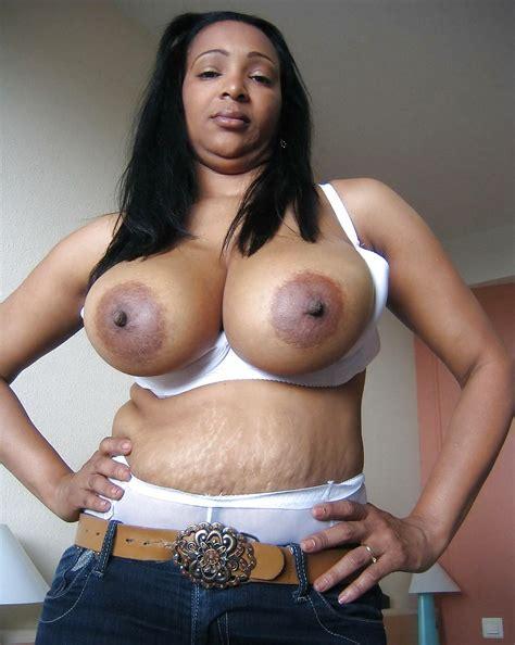 Big Ebony Boobs