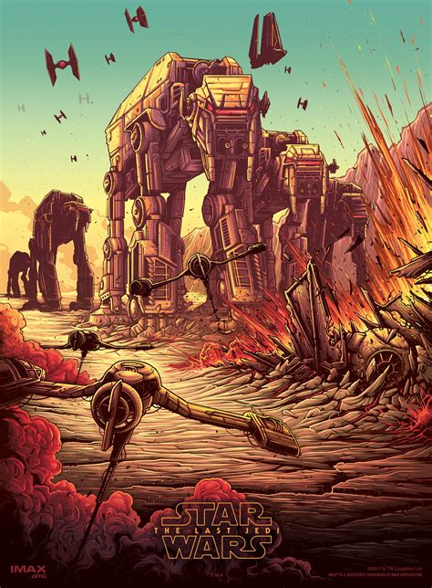 the siege 2 the last jedi dan mumford imax posters 2 of 4 the battle