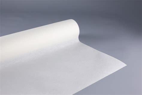 nappe en papier jetable non tiss 233 1 20 m x 40m blanc rouleau nappe jetable fournimag