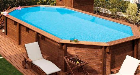 Large Oval Above Ground Pools