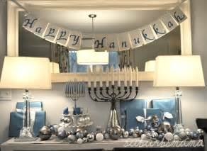 Decorating For Hanukkah by Suburbs Mama Celebrating Hanukkah 2012