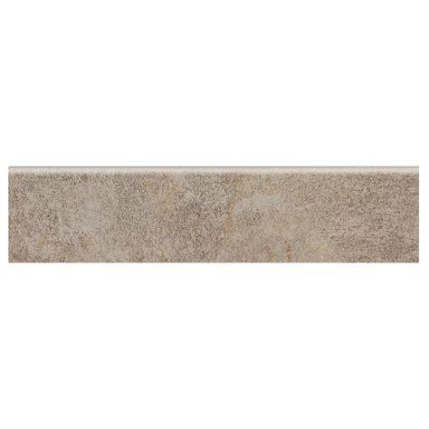 tile bullnose trim daltile longbrooke weathered slate 3 in x 12 in ceramic floor and wall bullnose tile