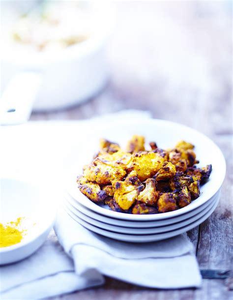 cuisine chou fleur chou fleur au curcuma pour 6 personnes recettes à table