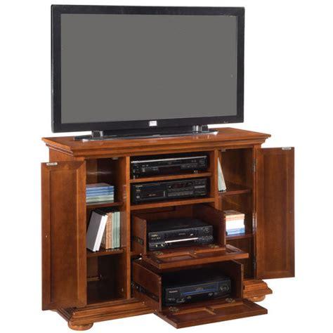 tv credenza tv stands home styles 44 quot warm oak homestead tv credenza