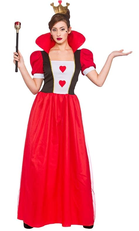 storybook queen  hearts  size costume ef