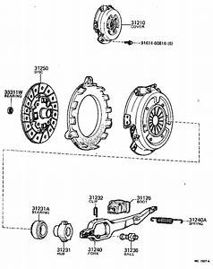 Toyota Starlet Disc Assembly  Clutch  Driveline  Mtm