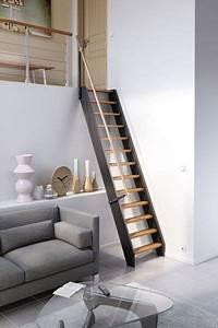 Escalier gain de place Venise en bois Lapeyre