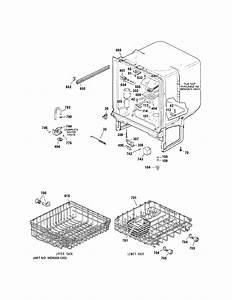 Hotpoint Hda2100n10bb Dishwasher Parts