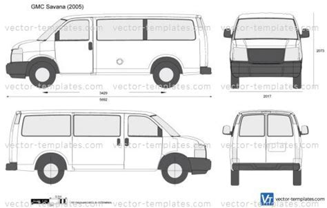 templates cars gmc gmc savana