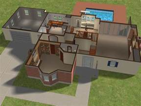 log home open floor plans mod the sims bewitched house