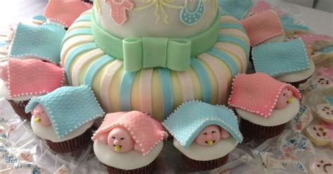 baby shower cake cupcakes goldilocks bakery party