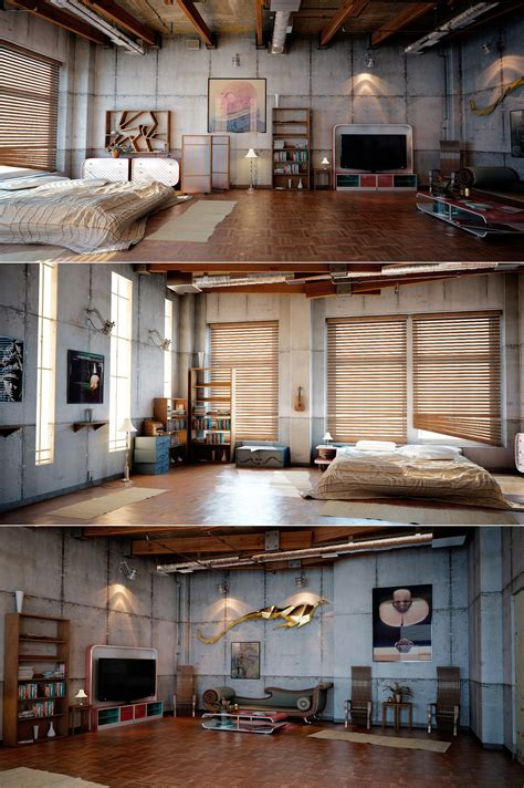 Industrial Loft by Industrial Loft Design Interior Design Ideas