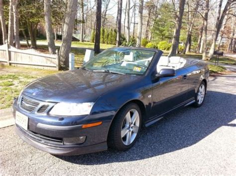 how things work cars 2007 saab 42072 on board diagnostic system find used 2007 saab 9 3 aero turbocharged convertible in cape may court house new jersey