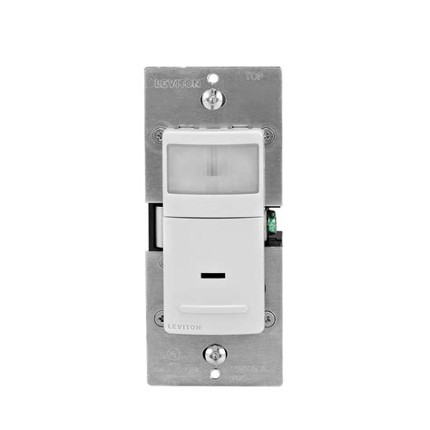 Leviton Decora Amp Single Pole Dual Switch White
