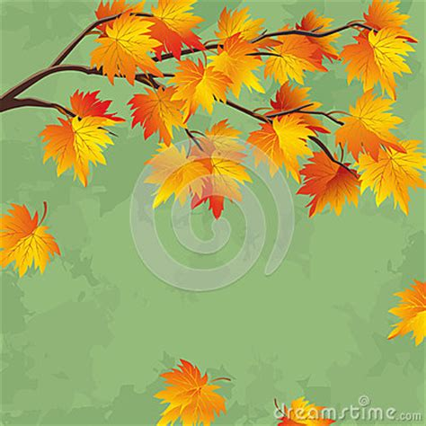 Autumn Tree Leaf Fall Animated Wallpaper - vintage autumn wallpaper leaf fall background stock