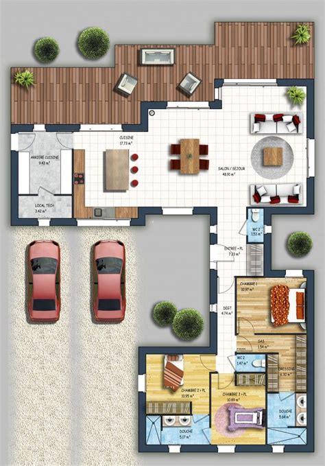 plan maison etage 4 chambres 1 bureau plan maison etage 4 chambres 1 bureau fabulous plan de