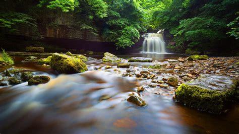cauldron falls small waterfall  west burton north