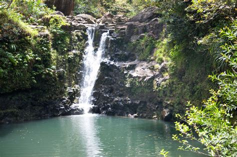 Road to hana waterfalls are definitely worth visiting. Justin and Lauren Conquer the World! :-): Maui, Hawaii ...