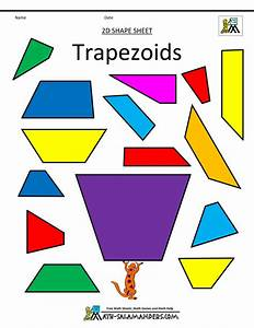 Shapes Clip Art First Grade 2d Shapes