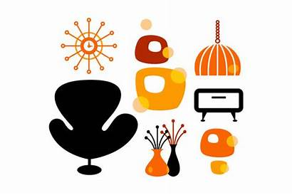 Century Mid Clipart Graphic Retro Furniture Guide