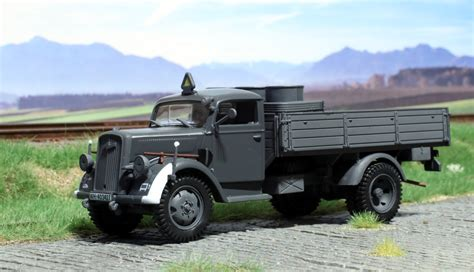 opel blitz german opel blitz truck from atlas editions o scale models