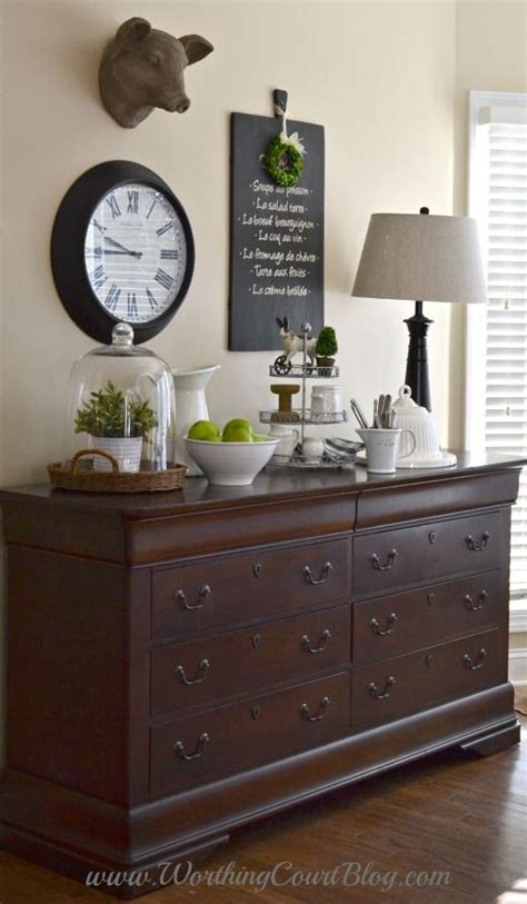 How To Style A Dresser by Adding Farmhouse Style To The Kitchen And Dressers Aren T