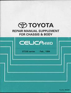 1994 Toyota Celica Gt4 Chassis Bgb Online