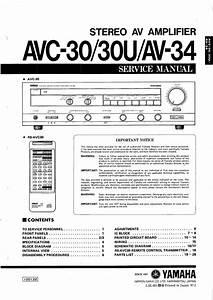 Download Free Pdf For Yamaha Avc