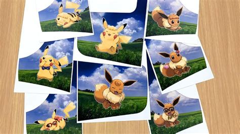pokemon lets  pikachueevee  customization