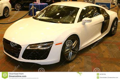Audi R8 Exotic Sports Car 2015 Editorial Photo