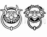 Labyrinth Clipart Knockers Silhouette Cricut Coloring Drawing Clipartmag sketch template