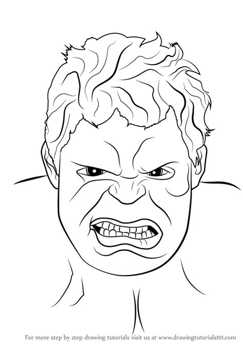learn   draw  hulk face  hulk step  step