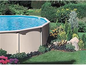 piscine hors sol With jardin autour d une piscine 6 piscines hors sol des modales de piscine hors sol varie